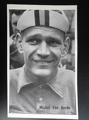CP carte postale Lotto photo Cyclisme Michel Van Aerde No tour de France