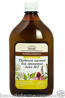 45112 Bath herbal tincture № 3 Prophylactic 580ml Green Pharmacy