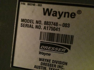Dresser Wayne Nucleus POS IBM Model 4840