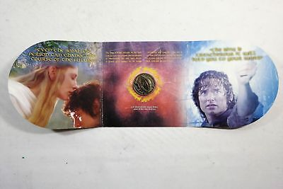 New Zealand - 2003 - Uncirculated Coin - Lord of The Rings Coin in a Folder!