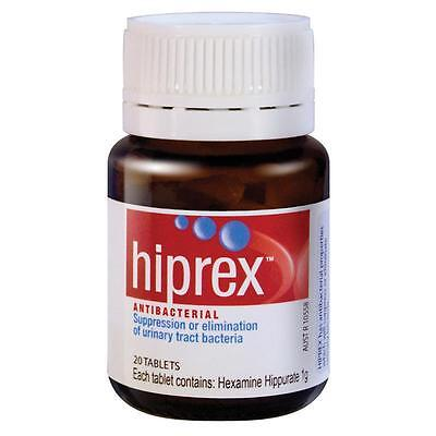 DJP NEW Hiprex 20 Tablets | Antibacterial for Urinary Tract Bacteria Urinary Tra