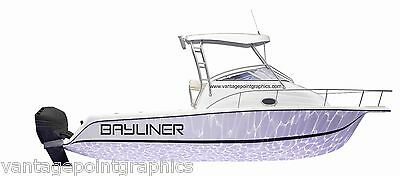 LOGO DECAL FOR BAYLINER Boats- Mako, Hobie, Wellcraft and others available