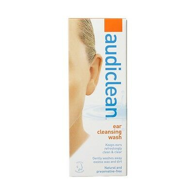 DJP NEW Audiclean Ear Cleansing Wash 60 mL