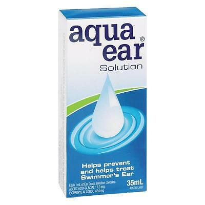 DJP NEW Aquaear Ear Drops 35mL