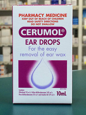 DJP NEW Cerumol Ear Drops 10mL