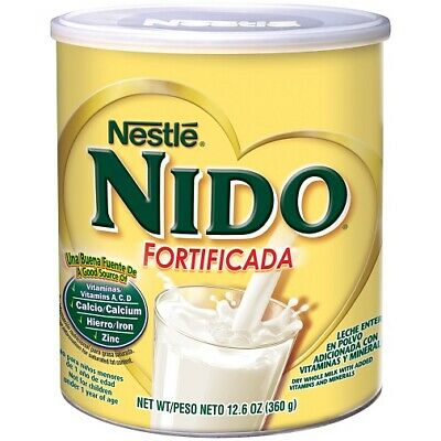 Nestle Nido Instant Dry Whole Milk Powder Fortificada