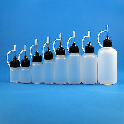 10Pcs 3Ml 5Ml 8Ml 10Ml 15Ml 20Ml 30Ml 50Ml Ldpe Metal Needle Tip Dropper Bottle
