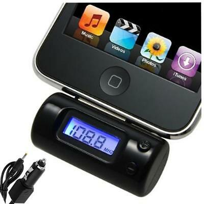 FM Radio Transmitter For iPhone 3G 3Gs 4 iPod Touch 2nd/Second Gen/Generation