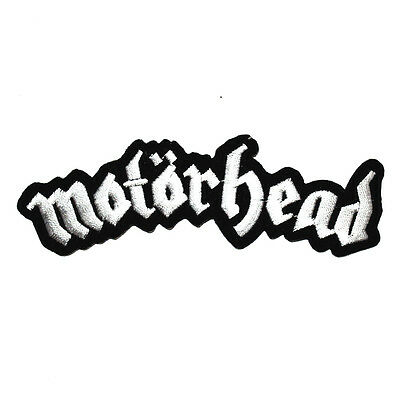Motörhead British Hard Rock Music band Punk Clothing T-Shirt Applique Iron Patch