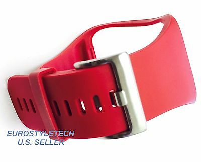 Red Repacement Band For Samsung Gear S GearS Smartwatch Smart Watch
