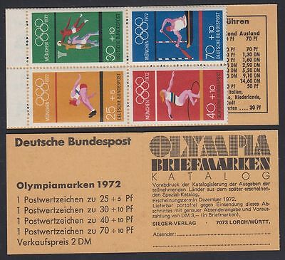 Germany Bund BRD 1972 ** Olympische Spiele Olympic Games MH 17