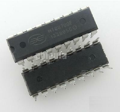 2PCS MT8870 CMOS LOW POWER DTMF DECODER RECEIVER IC NEW