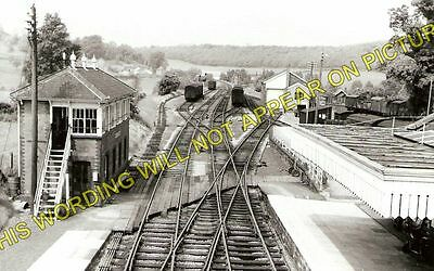 Hallatrow Railway Station Photo. Clutton - Midsomer Norton. Radstock Line. (1)
