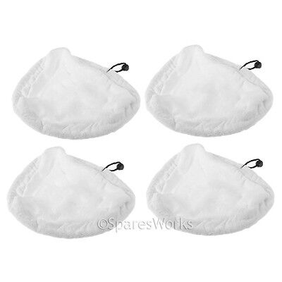 4 Cloth Cover Pads for Vax Centrix S88-CX4-B-A S86-SF-C 15in1 Steam Cleaner Mop