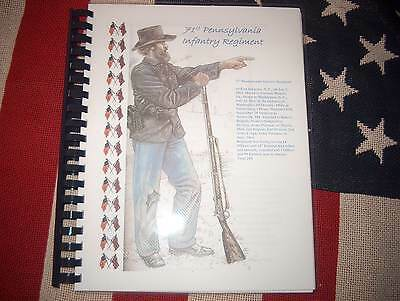 Civil War History of the 71st Pennsylvania Infantry Regiment