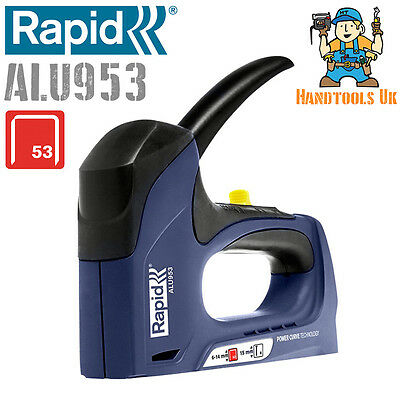 Rapid ALU953 Power Curve Combination Tacker (R53, R453, Stapler / Staple Gun)