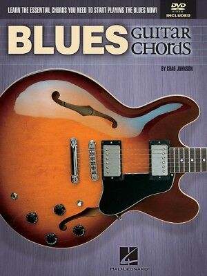 Blues Guitar Chords - Complete Play Along Song Book W/dvd