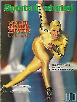 1980 Winter Olympics Eric Heiden 1980 Sports Illustrated 5X Gold Lake Placid Usa
