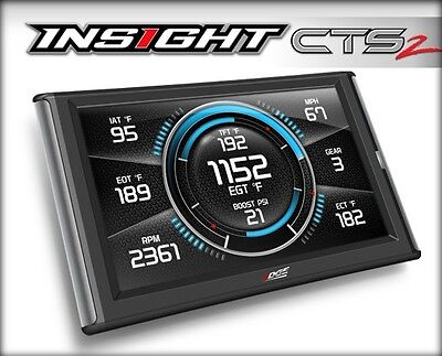 Edge Insight CTS2 84130 Engine Monitor Guages for Powerstroke - Duramax  Cummins