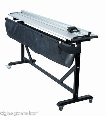 60 Inch  Aluminum Alloy Large Format Paper PVC Trimmer Cutter with Support Stand