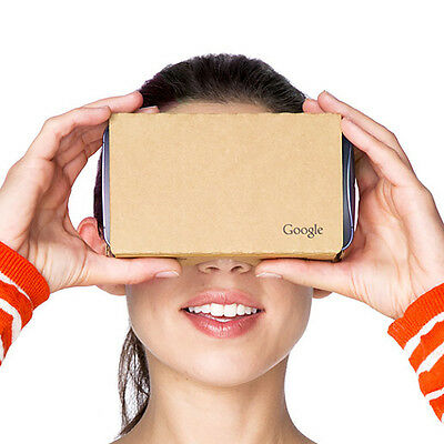 2015 Google Cardboard 2.0 / 3D Virtual Reality VR Headset & Strap for Phones