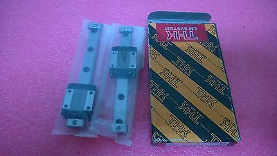 Thk Miniature Lm Guide Lot Of 2 Rsr7m 50l Tiny Linear