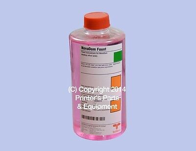 Pink Fountain Solution for all Polyester Laser Printing Plates