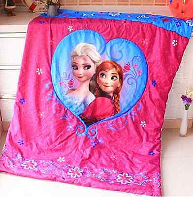 Brand New Frozen Anna Elsa Olaf Comforter/Quilt/Blanket for Cot and Toddler Bed
