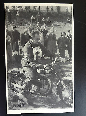 CPA carte postale Lotto photo Michel Decorte  Sport motocross