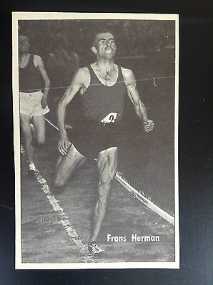 CPA carte postale Lotto photo Frans Herman Sport