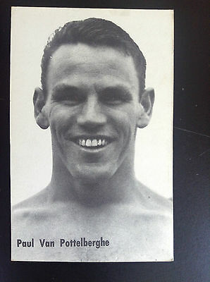 CPA carte postale Lotto photo Paul Van Pottelberghe Sport