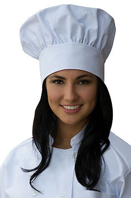 New White Cloth Chef Hat - Made in USA -  Support Locally Sourced Products!