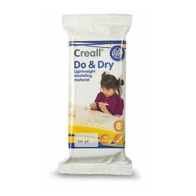 Creall Do & Dry Light Air Dry Modelling Clay - White 250g
