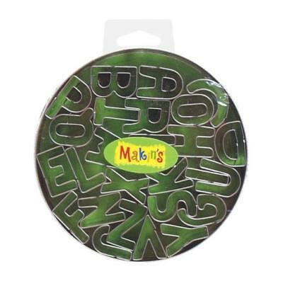 Makin's Clay Cutter Set - Uppercase Alphabet