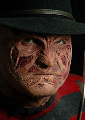 FREDDY PROSTHETIC FACE APPLICATION MENS HALLOWEEN Fancy Dress 80's COSTUME PARTY