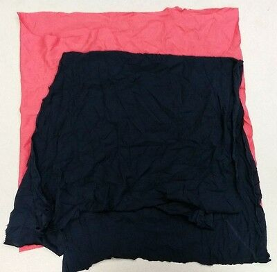 Box of 100% Cotton Colored T-shirt Rags (50 LB)
