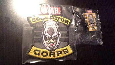 MARVEL Collector Corps EXCLUSIVE ANT-MAN PATCH AND PIN Brand NEW