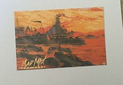 SDCC 2013 MONDO PROMO CARDS IRON GIANT EVENT PROMO CARD RARE