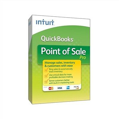 QuickBooks Point of Sale POS Pro -  v12 (2015) - New - Full Version