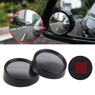 2 x Car Blind Spot Mirror Rearview 2 Side Wide Angle Convex Mirror For All Car u