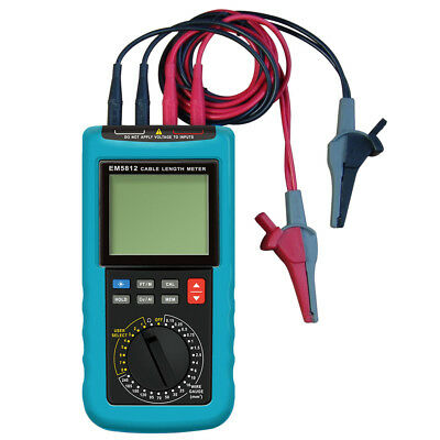 Digital Cable Length Meter Wire Length Resistance Tester Super High-accuracy