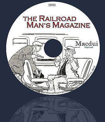 The Railroad Man's Magazine – Vintage Magazines 26 Volumes on 1 DVD Pulp, Comic