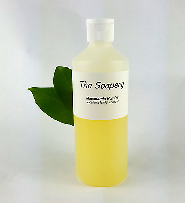 Macadamia nut oil, Natural Base Carrier Oil Aromatherapy Massage Hair Treatment