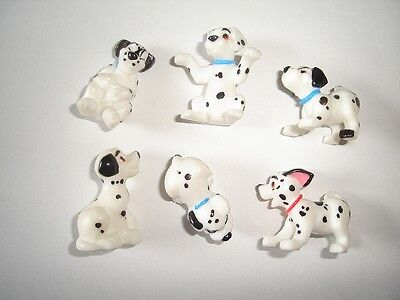 Disney 101 Dalmatians Figurines Set 2 Nestle - Figures Collectibles Miniatures