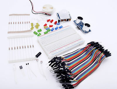 Starter Kit compatible with Arduino including components & sensors