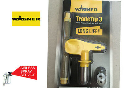 Wagner Trade Tip 3 Airless Spray Tip *genuine* Brand New* Sold Each