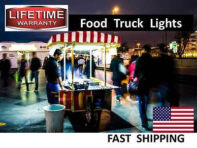 Mobile Kitchen & Food Cart LED Lighting KITS --- watch our VIDEO - AC or DC