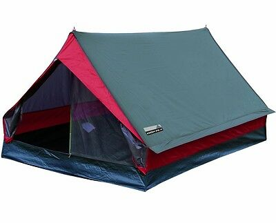 Outdoor Camping Wheather Protected Tent Minipack 2 Man Hiking Fishing Cover Camp