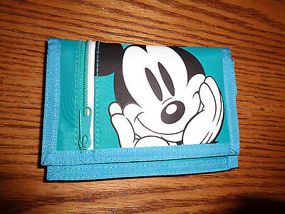 Disney - Mickey Mouse - Teal Wallet - New