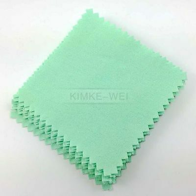 20x Jewelry Polishing Cloth Cleaning for Platinum Gold and Sterling Silver New